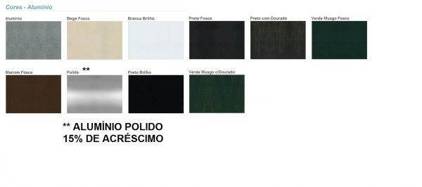 "banco jardim aluminio:CORES DE ALUMINIO – ""WORLD BANCOS"" Bancos para jardim"
